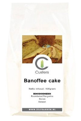 Banoffee cakemix 500 gr