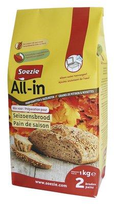 Seizoenbrood All in 1000gr