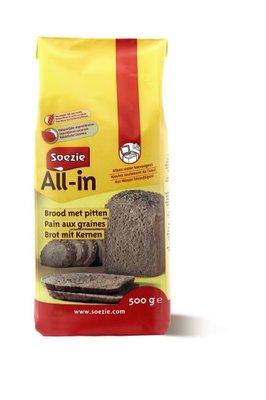 Brood met pitten All in 0.5 kg
