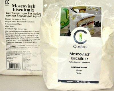 Moscovische / Biscuitmix 1 kg.