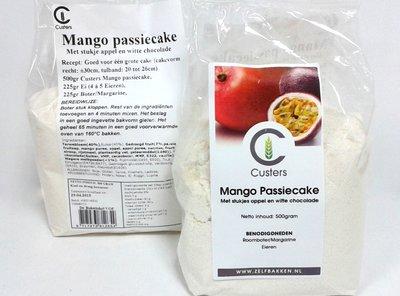 Mango passie cakemix 500 gr.