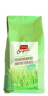 Meergranen brood BIO 2.5 kg. NIEUW