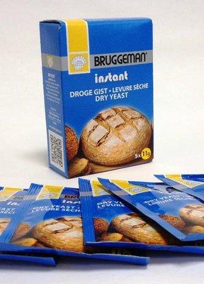 Droge Gist 5 X 11gr Bruggeman
