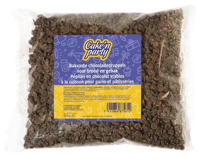 Chocolade druppels bakvast 500 gr.