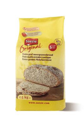 Extra grof meergranenbrood Org. 2.5kg