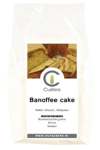 Banoffee cakemix 400 gr