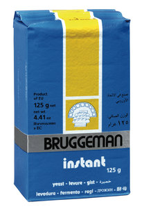 Gist Droge 125gr Bruggeman