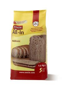 Waldkornbrood All in 2.5 kg
